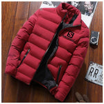 2019 New Winter Jackets Parka Men Autumn Winter Warm Outwear Brand Slim Mens Coats Casual Printed Jackets