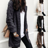 Winter Women Warm Teddy Bear Coat Cardigan