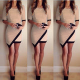 Fashion Dress Women Bandage Bodycon(NOT SOLD IN STORES)