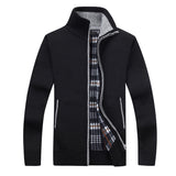 Mens Fleece Sweate Autumn Winter