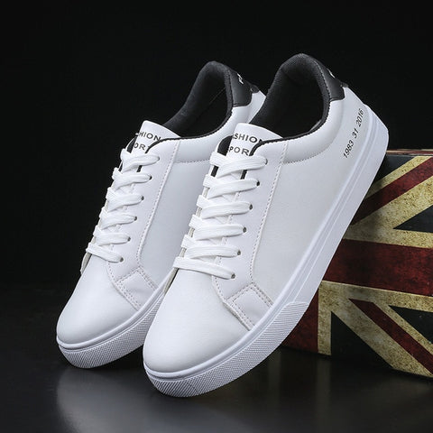 2019 Autumn White Shoes Men