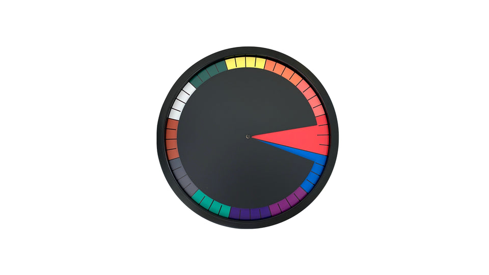 TIAN Wall Clock Multicolour