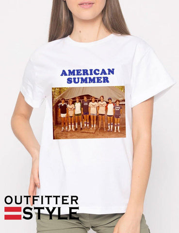 American Summer Vintage 90s T-shirt Woman