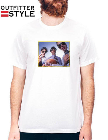 Beastie Boys Sabotage Photo Mens T-shirt