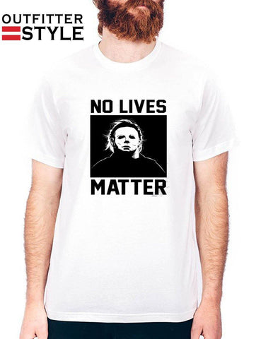 Halloween No Lives Matter Mens T-shirt