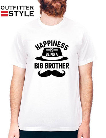 Happiness Is Being A Big Brother Mens T-shirt