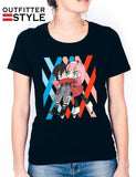Hiro And Zero Two Darling In the Franxx Woman T-shirt
