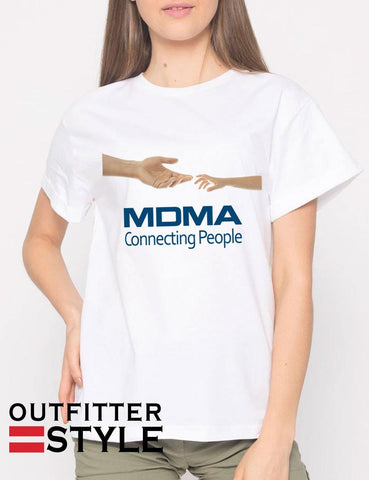 MDMA Connecting People T-shirt Woman