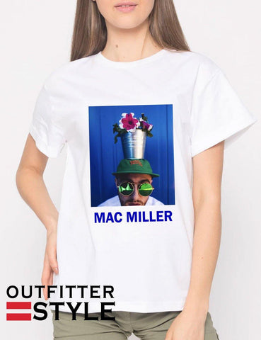 Mac Miller Flower Pot T-shirt Woman