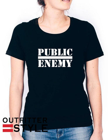 Miley Cyrus Public Enemy Unisex T-shirt