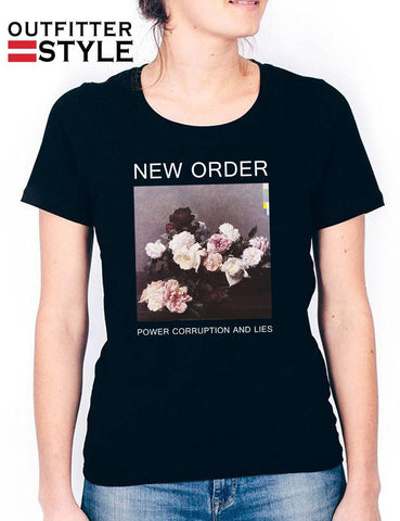 Sandro PCL New Order T-shirt Woman