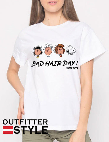 Snoopy Bad Hair Day T-shirt Woman