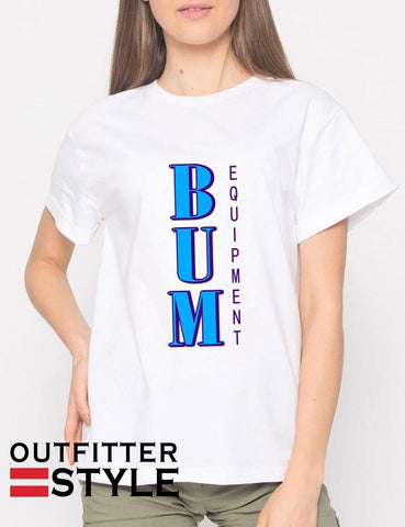 Vintage Retro BUM Equipment T-shirt Woman