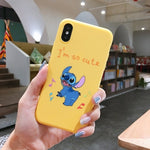Mickey Minnie Soft TPU Cases For iPhone 6S 8 7 Plus 6 S  Matte Back For iPhone X XS Max XR