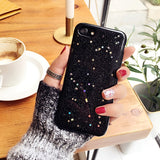 Clear Glitter Star Cover For iphone 11 XS MAX X 7 8 plus Soft TPU Case Coque Case for iphone 6 s 6s plus