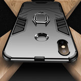 Finger Ring Holder Shockproof Case For iPhone 6 6S 7 8 Plus XS Case For iPhone 11Pro Max X 5 5S Se XS Xs Max XR