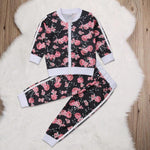2-7T Kids Girls Cotton Toddler Autumn Clothes Tracksuit Girl Outfit - Outfitter Style