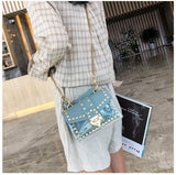 Transparent Bag PVC Jelly Small Totes Messenger Bags