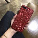 Christmas Gifts Glitter Phone Case For iphone X XS MAX XR 7 8 6 6S Plus Bling shining Diamond
