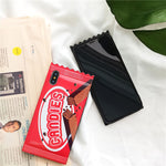 Candy Food Phone Case For iphone 11 11pro Max XR Case For iphone X XS 7 8 plus Chocolate Cookies Cases