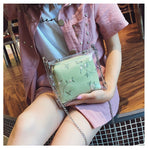 Transparent Jelly Female Bag PVC Women's