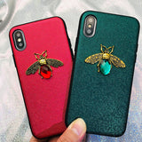 Shining Bee Phone Case For iPhone 11 X XR XS Max 8 7 6 S Plus Case For Samsung A70 a50 S8 S9 S10 Plus Note9 10 Pro