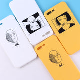 One Punch Man Girl Silicone Matte Case  for iPhone 11 Pro 6 6S 5 5S SE 8 Plus X  Max Soft Cover iPhone 7 7Plus