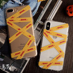 Dhl Transparent Pattern Phone Cover Case For Iphone X 11 Pro Xs Max Xr 10 8 7 6 6s Plus