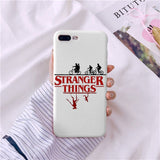 Stranger Things Christmas Lights Case For iphone 7 6S 8 Plus X 5S SE