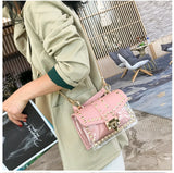 Transparent Bag Clear PVC Jelly Small Totes Messenger Bags