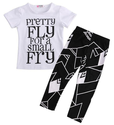 2 Pieces Toddler Kids Boys Clothes Set T-shirt Tops+Pants Summer Casual Outfits