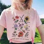 Sunflower T Shirt Bloom Where You Are Planted Women T Shirt