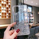 Soft Silicone Bling Glitter Transparent protective for iPhone 11 Pro Max iphone11 11pro
