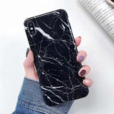 Colorful Marble Granite Stone Phone Cases For iphone 11 11Pro Max  X XS Max XR 7 8 Plus 6 6S