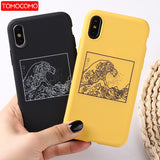 The Great Wave off Back Cover Soft Phone Case For iPhone 11 Pro 7Plus 7 6Plus 6 6S 8 8Plus X XS Max