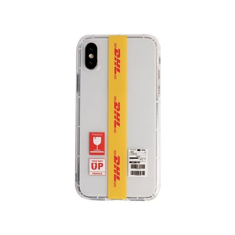 Dhl Pattern Phone Cover Case For Iphone X 11 pro Xs Max Xr 10 8 7 6 6s Plus