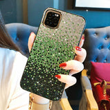 Luxury Full Diamond Glitter Gradient protective back cover case for iphone 11 Pro Max iphone11 11Pro