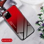 Gradient Tempered Glass Case For iPhone 11 Pro MAX X XS XR Starry Sky Cover For iPhone 7 8 Plus 6 6s