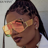 Oversized Sunglasses Luxury Retro Square Mens Sunglass Rihanna