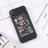 For iPhone 6 6s 7 8 Plus X XR XS Max 11 Pro Max 5 5s SE Phone Case Central Perk Friends Soft TPU Case For iPhone XS