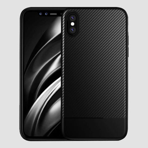 Carbon Fiber Texture Matte Case For iPhone 11 Pro Max XS Max XR X 8 7 Plus - Outfitter Style