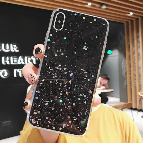 Luxury Gold Foil Bling Marble Phone Case For iPhone X XS Max XR 11 Pro Max 7 8 6 6s Plus