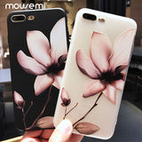 Luxury Flower 3D Silicone Case For iPhone 6 7 6S 8 Plus 5S SE X XS MAX XR 11 Pro