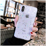 Bling Star Glitter Soft TPU Phone Cases For iphone 11 Pro XS Max XR X 8 7 6 6S Plus 5S SE