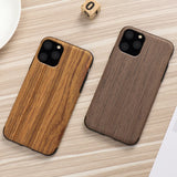 Case for Iphone 11 Pro Xs Max Xr X 7 8 Plus 6 6s 5 5s SE Apple Wood Grain Flexible TPU Silicone Hybrid