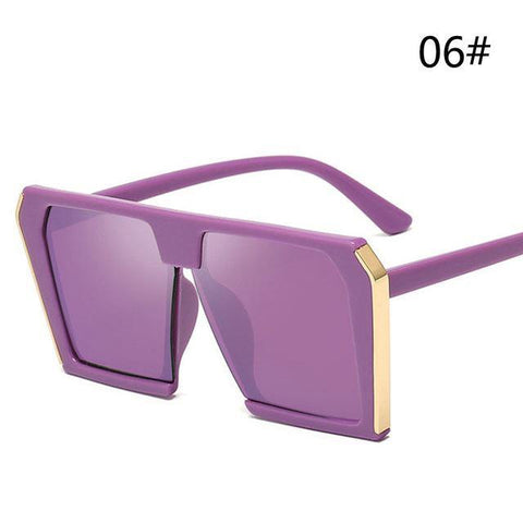 Big Square Sunglasses Women Oversized Luxury Brand Lady Shades
