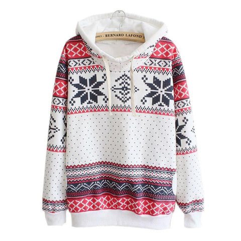 Christmas Hoodies Women sweatshirt oversized festival Hooded