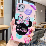 Mickey Minnie For iphone 6 6S 7 7plus 8 8Plus iphone X XR 11 pro MAX Case Cover Phone Case