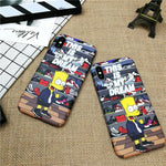Cartoon Boy Soft Case For Iphone 11 Pro X Xs Max Xr 8 7 6 6s Plus Phone Case For Samsung Galaxy S10 S9 S8 Plus