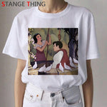 Funny Cartoon T Shirt Princess Vintage 90s T shirt